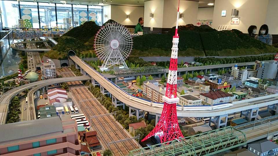 糸魚川駅鉄道ジオラマ街
