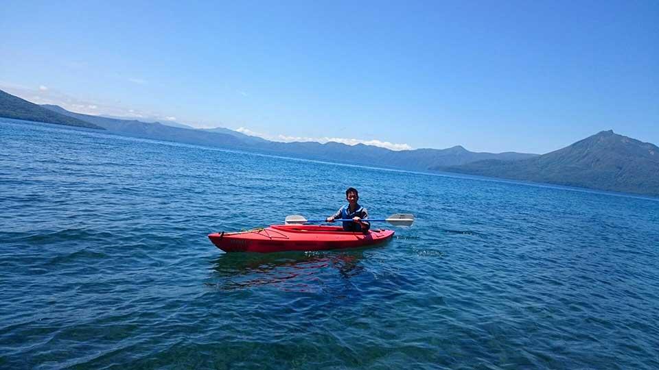 カヌーを漕ぐkeiya